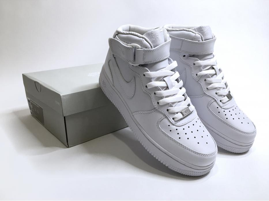 """Кроссовки Nike Air Force 1 Mid """"07 White"""